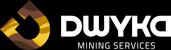 Dwyka Mining Services Logo in White