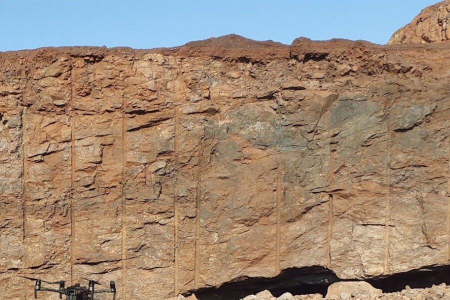 South African open pit Iron Ore operation